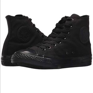 Converse chuck Taylor black hi top shoes woman 9.5